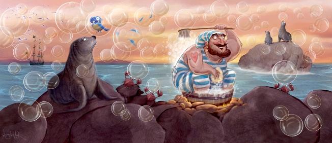 MOTIVARTI.AJHAR.NoPirates.Bubbles